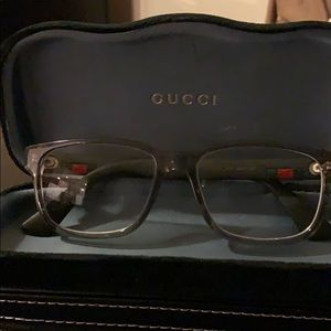 Gucci eyeglass frames with case